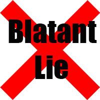 blatant-lie